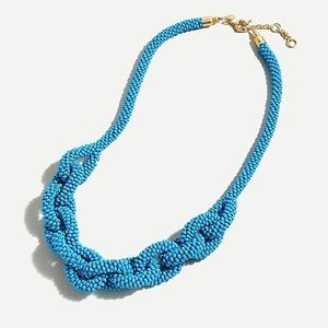 J. Crew Beaded Chain Rope Necklace NWT